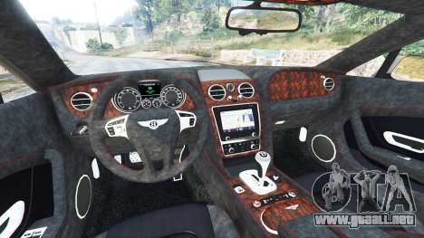 GTA 5 Bentley Continental GT 2012 [replace] vista lateral derecha