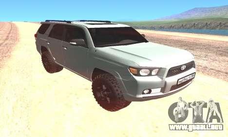 Toyota 4Runner para GTA San Andreas