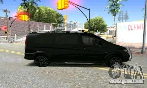 Mercedes-Benz Vito para GTA San Andreas left