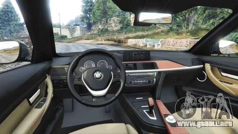 GTA 5 BMW 335i GT (F34) [add-on] vista lateral derecha