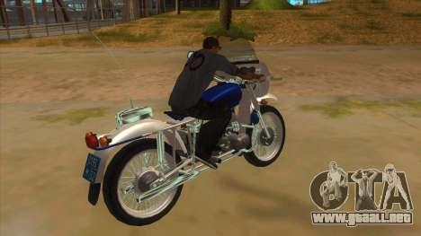 Ural De La Policía para la visión correcta GTA San Andreas
