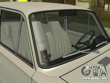 VAZ 21013 124RUSSIA para GTA San Andreas vista posterior izquierda