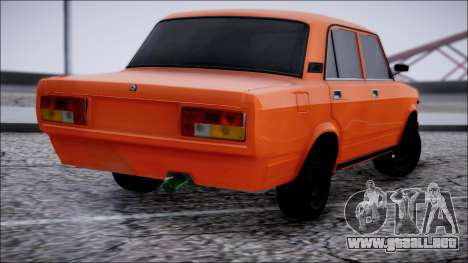 VAZ 2105 Pigler para GTA San Andreas left