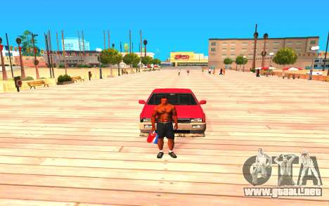 Summer Colormod para GTA San Andreas segunda pantalla