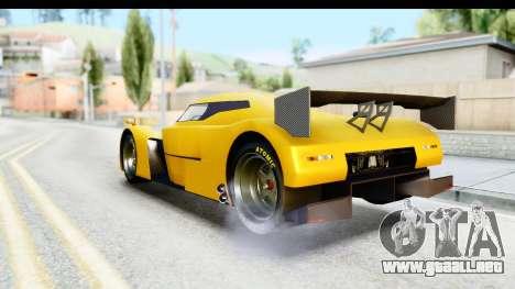 GTA 5 Annis RE-7B para GTA San Andreas vista posterior izquierda