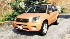 Toyota RAV4 (XA20) [add-on] para GTA 5