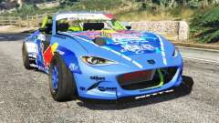 Mazda MX-5 (ND) RADBUL Mad Mike [replace] para GTA 5