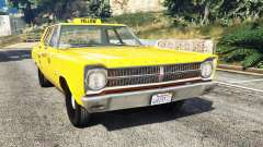 Plymouth Belvedere 1965 Taxi [replace]