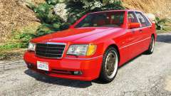 Mercedes-Benz W140 AMG orange signals [replace]