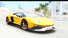 Lamborghini Aventador LP720-4 Roadster 2013 para GTA San Andreas