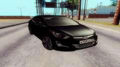Hyundai Elantra 2015 para GTA San Andreas