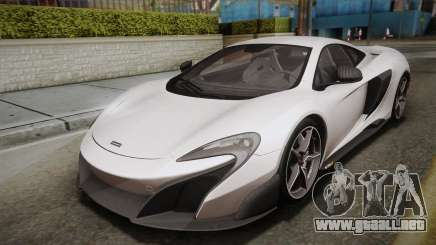 McLaren 675LT 2015 5-Spoke Wheels para GTA San Andreas