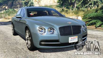 Bentley Flying Spur [add-on] para GTA 5