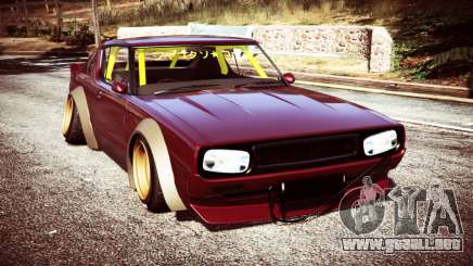 Nissan Skyline GT-R C110 Liberty Walk [replace] para GTA 5