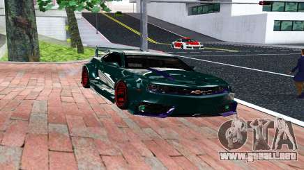 CHEVROLET CAMARO SS LIGHT TUNING para GTA San Andreas