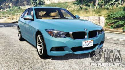 BMW 335i GT (F34) [add-on] para GTA 5