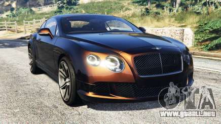 Bentley Continental GT 2012 [replace] para GTA 5