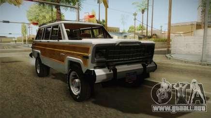 Jeep Grand Wagoneer Limite 1986 para GTA San Andreas