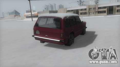Huntley Winter IVF para GTA San Andreas left