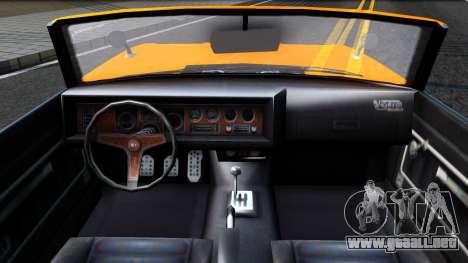 GTA V Declasse Vigero Retro Rim para visión interna GTA San Andreas