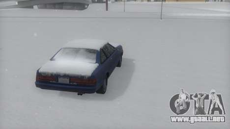 Cadrona Winter IVF para GTA San Andreas left