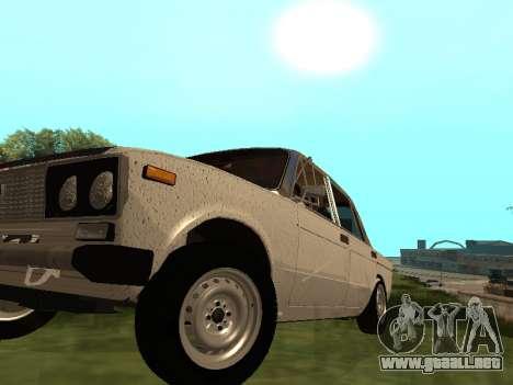 VAZ 2101 (06) de Garaje 54 para GTA San Andreas vista hacia atrás