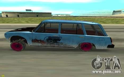 VAZ 2101 Invierno que va a la deriva para GTA San Andreas left