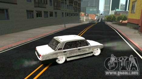 2107 Clásico de la 2 edición de Invierno para GTA San Andreas interior