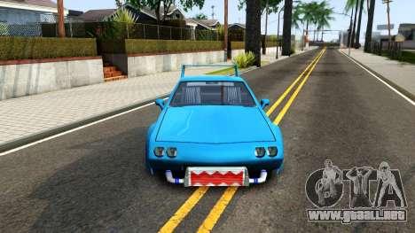 New Buffalo Custom para visión interna GTA San Andreas