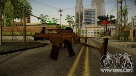 HK G36C v4 para GTA San Andreas tercera pantalla