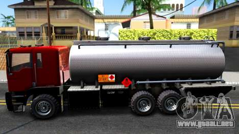 GTA V MTL Dune Oil Tanker para GTA San Andreas left
