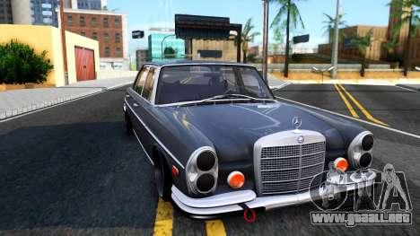 Mercedes-Benz 300SEL 6.3 para la visión correcta GTA San Andreas