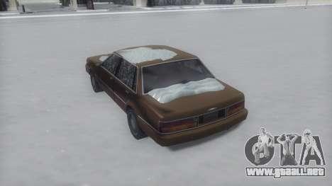 Primo Winter IVF para GTA San Andreas left