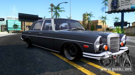 Mercedes-Benz 300SEL 6.3 para GTA San Andreas left