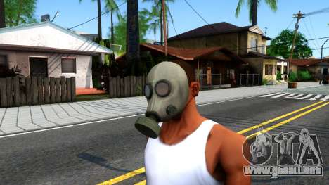 Gas Mask From Call of Duty Modern Warfare 2 para GTA San Andreas