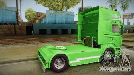 Scania Old School para GTA San Andreas left