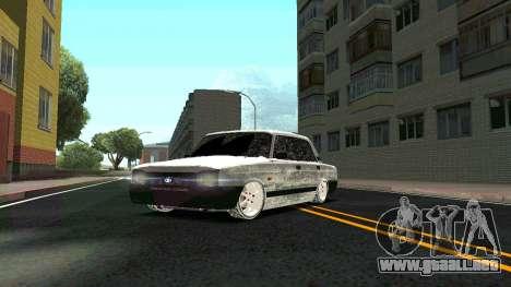 2107 Clásico de la 2 edición de Invierno para vista lateral GTA San Andreas