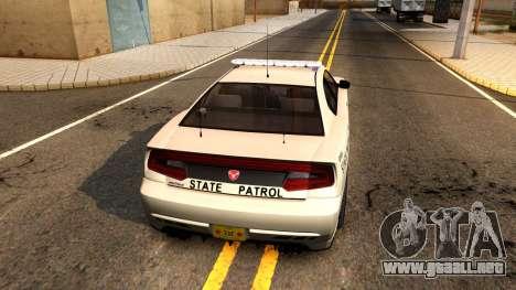 Bravado Buffalo 2012 Iowa State Patrol para la visión correcta GTA San Andreas