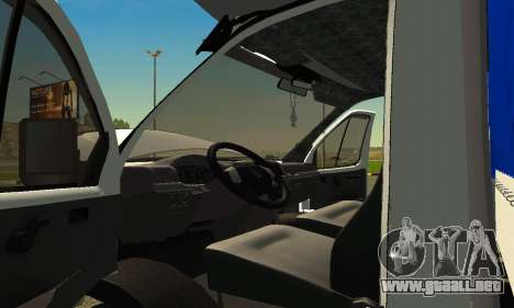 Gazelle 3302 para la visión correcta GTA San Andreas