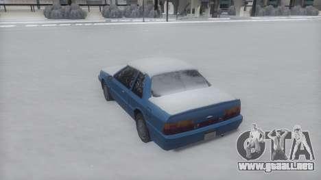 Previon Winter IVF para GTA San Andreas left