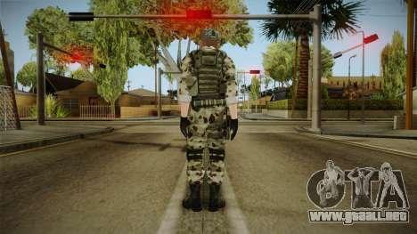 Resident Evil ORC Spec Ops v4 para GTA San Andreas tercera pantalla