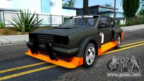 Rally Club para GTA San Andreas
