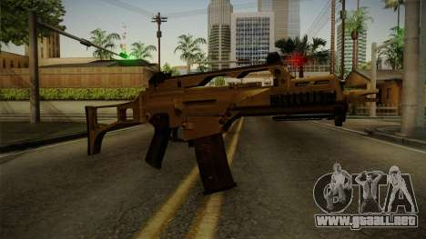 HK G36C v4 para GTA San Andreas segunda pantalla