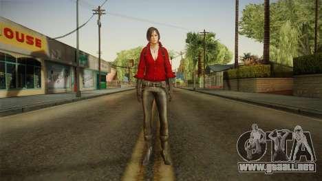 Resident Evil 6 - Ada para GTA San Andreas segunda pantalla