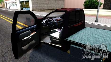 Chevrolet HD 3500 2013 para GTA San Andreas vista hacia atrás