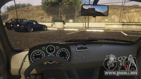 GTA 5 Fiat Abarth 595ss Racing ver vista lateral derecha