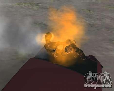 Para llevar el cadáver de 2016 para GTA San Andreas segunda pantalla