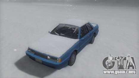 Previon Winter IVF para GTA San Andreas