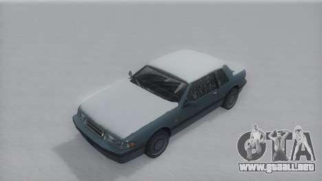 Bravura Winter IVF para la visión correcta GTA San Andreas