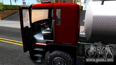 GTA V MTL Dune Oil Tanker para visión interna GTA San Andreas